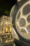 Exterior de la noche de la tienda de Bulgari en el Midtown Miami Fotos de archivo