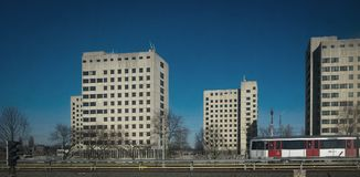Exterior de la prisión holandesa Fotografía de archivo libre de regalías