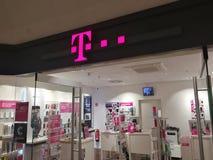 Exterior de la tienda de Deutsche Telekom Foto de archivo