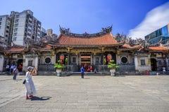 Exterior de Longshan Temple Fotos de Stock