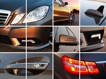 Exterior de lujo del coche Imágenes de archivo libres de regalías