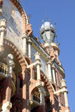 Exterior de Palau de la Musica em Barcelona Fotos de Stock
