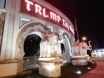 Exterior de Taj Mahal Casino del triunfo Foto de archivo libre de regalías