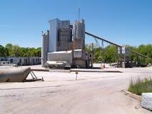 Exterior de uma área industrial Imagem de Stock Royalty Free