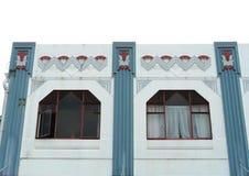 Exterior de un edificio del Arte-Deco Fotografía de archivo