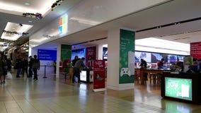 Exterior de una tienda de Microsoft