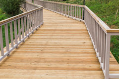Exterior decking Royalty Free Stock Photography
