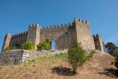 Exterior del castillo de Pombal fotos de archivo libres de regalías