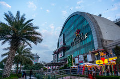 Exterior del citywalk Delhi Select Foto de archivo