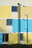 Exterior del edificio colorido foto de archivo libre de regalías