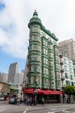 Exterior del edificio del centinela en San Francisco Foto de archivo libre de regalías