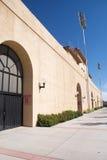 Exterior del estadio de fútbol Fotografía de archivo libre de regalías
