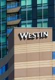 Exterior del hotel de Westin Fotos de archivo