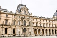 Exterior del museo de la lumbrera Imagen de la foto una vista panorámica hermosa de la ciudad del metropolitano de París imágenes de archivo libres de regalías