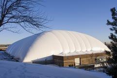 Exterior del oeste de la bóveda de los deportes de Saint Paul Fotografía de archivo