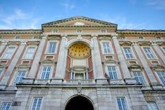 Exterior del palacio de Caserta Imagenes de archivo