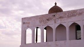 Exterior del pico de la mezquita y de la bóveda almacen de video