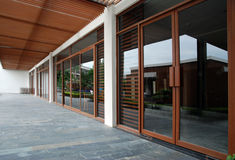 Exterior del restaurante Imágenes de archivo libres de regalías