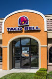 Exterior del restaurante de Taco Bell Fotografía de archivo