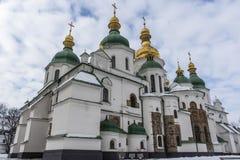 Exterior del St Sofia Cathedral en Kiev Kyiv, Ucrania Foto de archivo libre de regalías