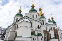 Exterior del St Sofia Cathedral en Kiev Kyiv, Ucrania Imagenes de archivo