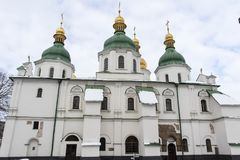Exterior del St Sofia Cathedral en Kiev Kyiv, Ucrania Foto de archivo