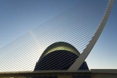Exterior detail of Agora in Valencia, Spain. Stock Image
