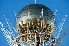 Exterior detail of the Bayterek monument and observation tower in Astana, Kazakhstan. Stock Photos