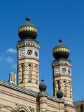 The Great Synagogue in Budapest. Exterior detail. stock photography