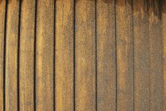 Exterior detail of the Hopperstad stave church wall in Vik, Norway. Royalty Free Stock Photo