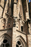 Exterior Detail, Sagrada Familia, Barcelona Spain Royalty Free Stock Image