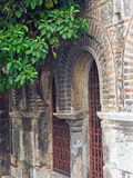 Exterior Details of Byzantine Greek Orthodox Church, Athens, Greece Stock Photos