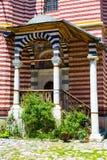 Exterior details of famous Rila Monastery Royalty Free Stock Photos