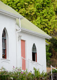 Exterior details of Painted Church of St Benedict Royalty Free Stock Photo