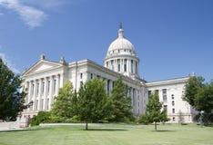 Exterior do capitol do estado de Oklahoma fotos de stock