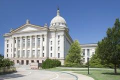 Exterior do capitol EUA do estado de Oklahoma Fotos de Stock Royalty Free