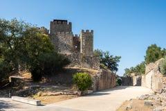 Exterior do castelo de Pombal fotografia de stock royalty free