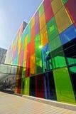 Exterior do DES Congres de Palais Foto de Stock