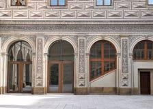 Exterior do detalhe da construção boêmia Imagem de Stock Royalty Free