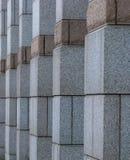 Exterior do edifício de pedra Fotografia de Stock