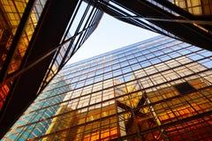 Exterior do edifício do negócio Fotos de Stock Royalty Free
