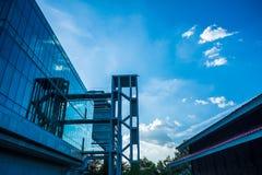 Exterior do hospital em Banguecoque, Tailândia Fotos de Stock Royalty Free