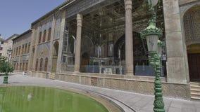Exterior do palácio de Golestan filme