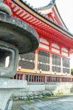 Exterior do templo de Kiyomizu-dera fotos de stock royalty free