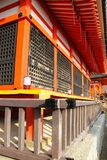 Exterior do templo de Kiyomizu-dera imagens de stock