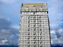 Exterior do templo de Murudeshwara Foto de Stock