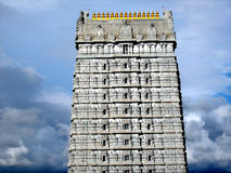 Exterior do templo de Murudeshwara Foto de Stock Royalty Free
