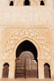 Exterior doors of Hassan II Mosque - Casablanca Stock Images