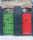 Exterior doors, Ireland Stock Image