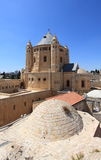 Exterior of the Dormition Abbey, Jerusalem Royalty Free Stock Photography